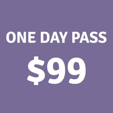One Day Passes - $99 - Tickets on sale now!