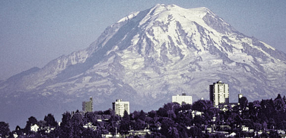 Mount Rainier in Tacoma, Washington