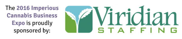 The 2016 Cannabis Business Expo is Proudly Sponsored by Viridian Staffing