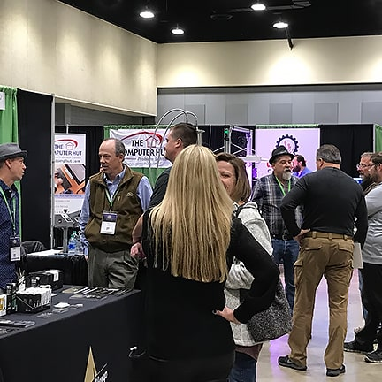 Exhibitors and attendees at Imperious Arklatex 2019